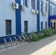 Новая велопарковка доступна для пациентов клиники